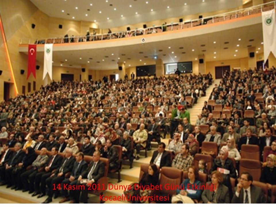 14 Kasım 2011 Dünya Diyabet Günü Etkinliği
