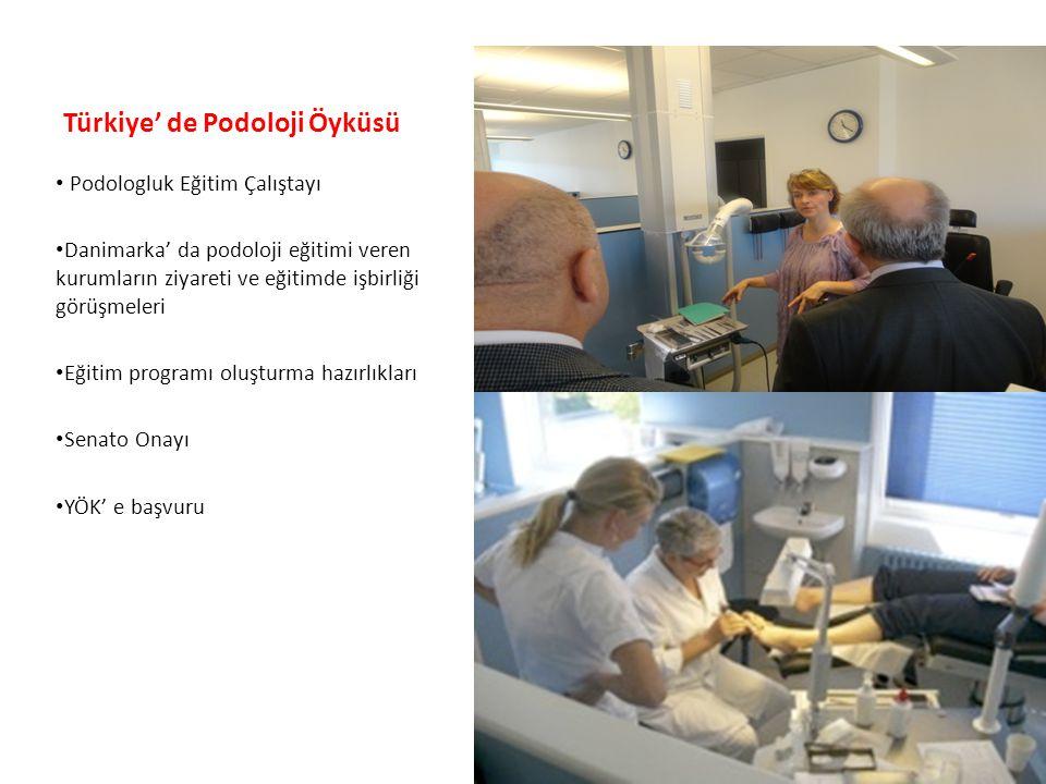Türkiye' de Podoloji Öyküsü