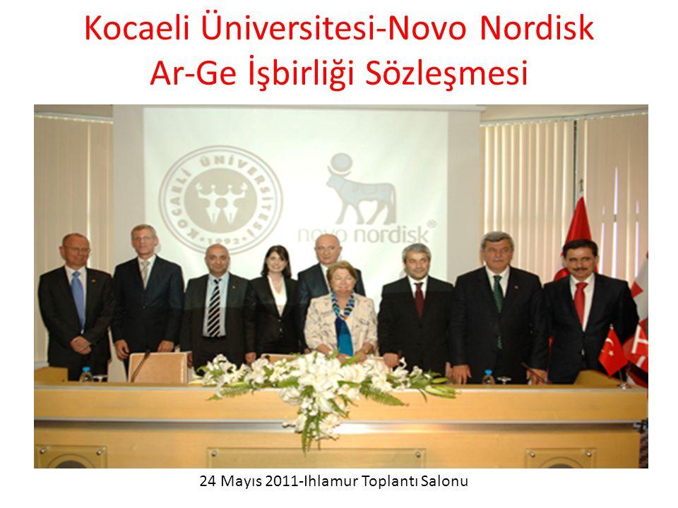 Kocaeli Üniversitesi-Novo Nordisk Ar-Ge İşbirliği Sözleşmesi