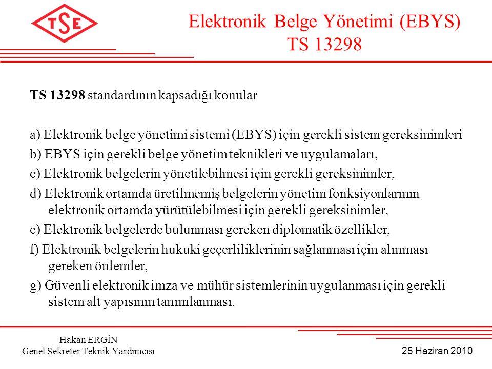 Elektronik Belge Yönetimi (EBYS)