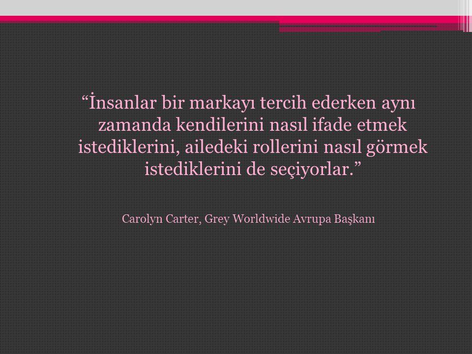 Carolyn Carter, Grey Worldwide Avrupa Başkanı