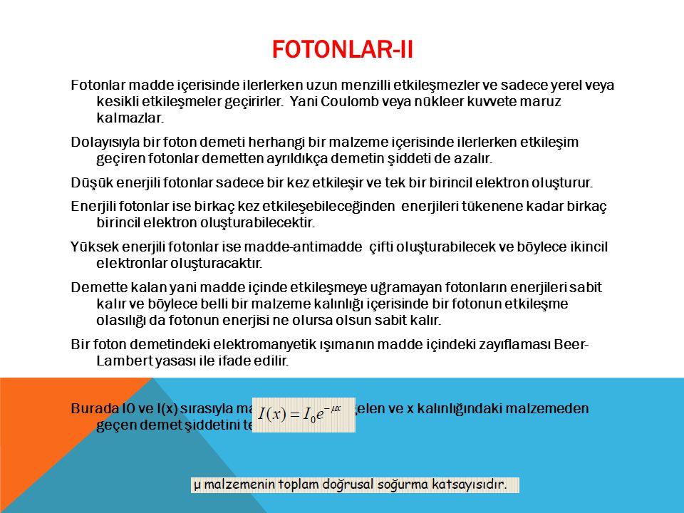 FOTONLAR-II