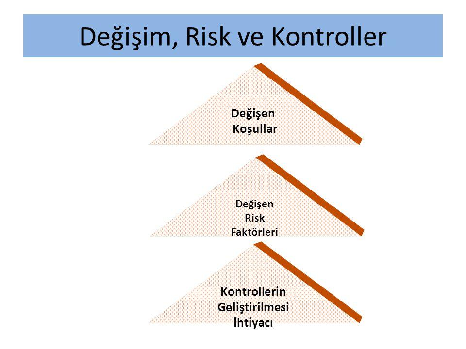 Değişim, Risk ve Kontroller