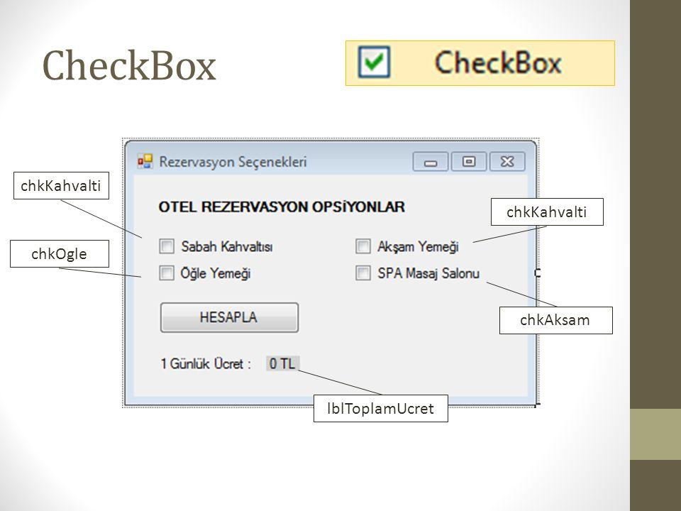 CheckBox chkKahvalti chkKahvalti chkOgle chkAksam lblToplamUcret