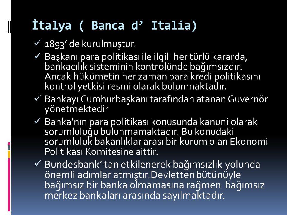 İtalya ( Banca d' Italia)