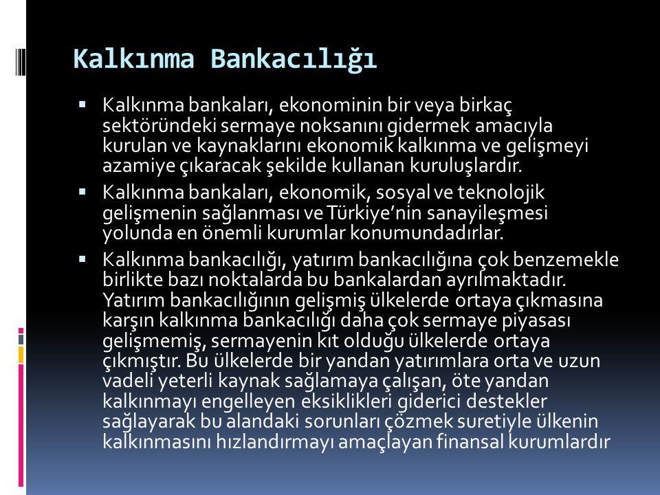 Kalkınma Bankacılığı