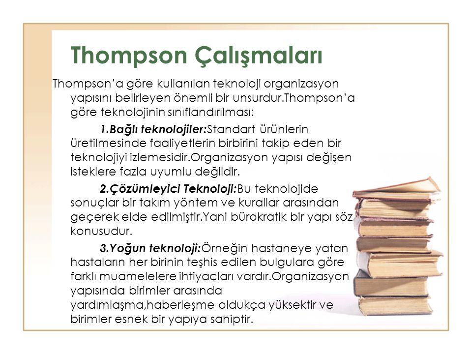 Thompson Çalışmaları