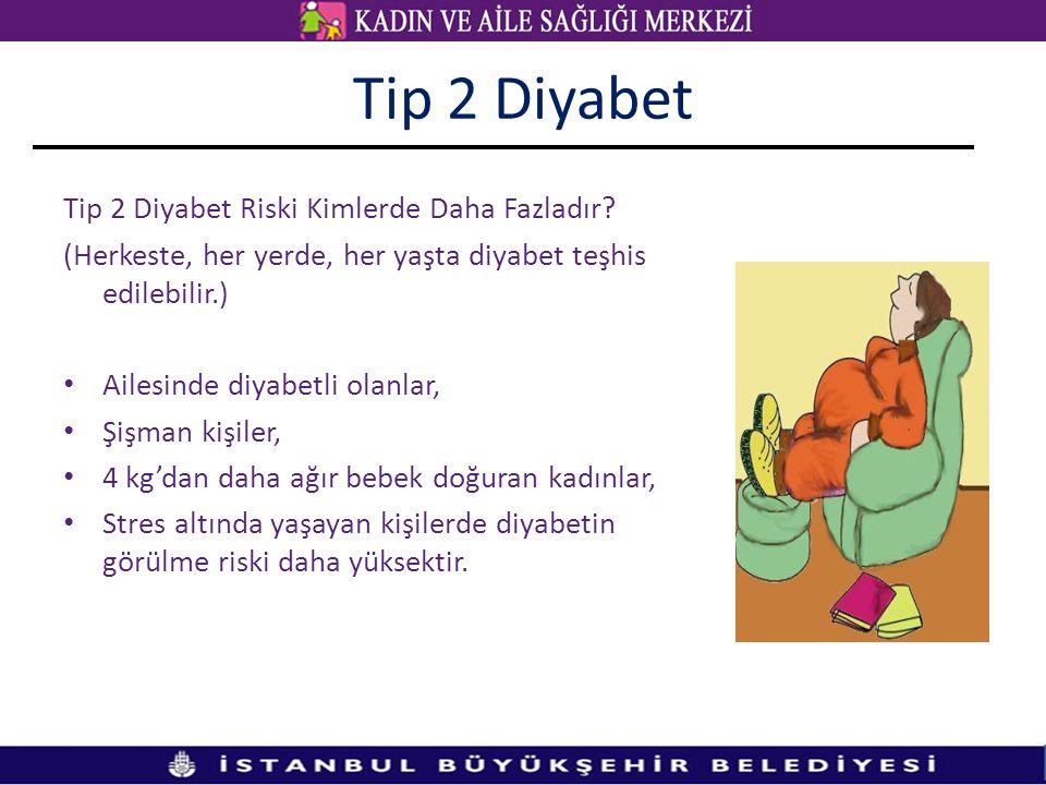 Tip 2 Diyabet Tip 2 Diyabet Riski Kimlerde Daha Fazladır