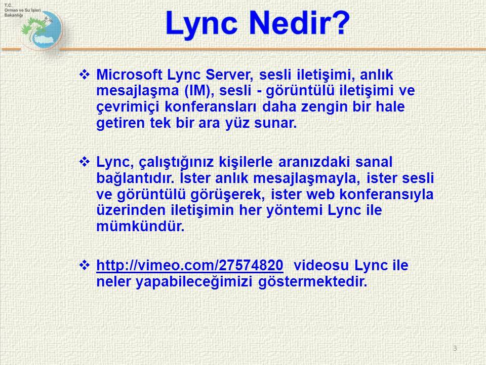 Lync Nedir
