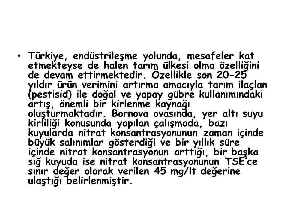 Türkiye, endüstrileşme yolunda, mesafeler kat etmekteyse de halen tarım ülkesi olma özelliğini de devam ettirmektedir.