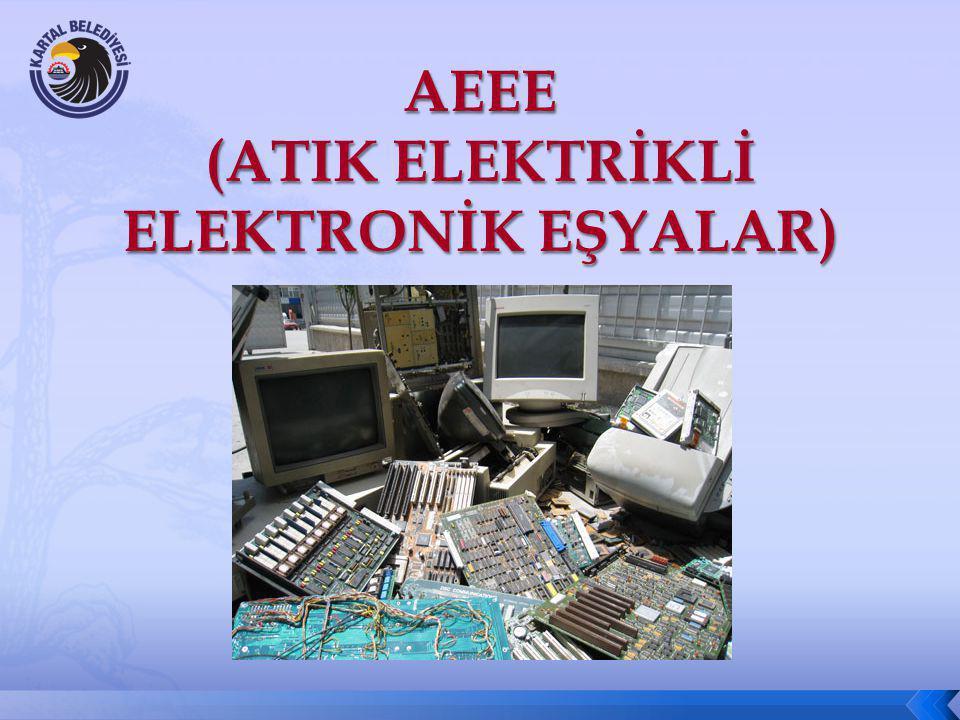 AEEE (ATIK ELEKTRİKLİ ELEKTRONİK EŞYALAR)