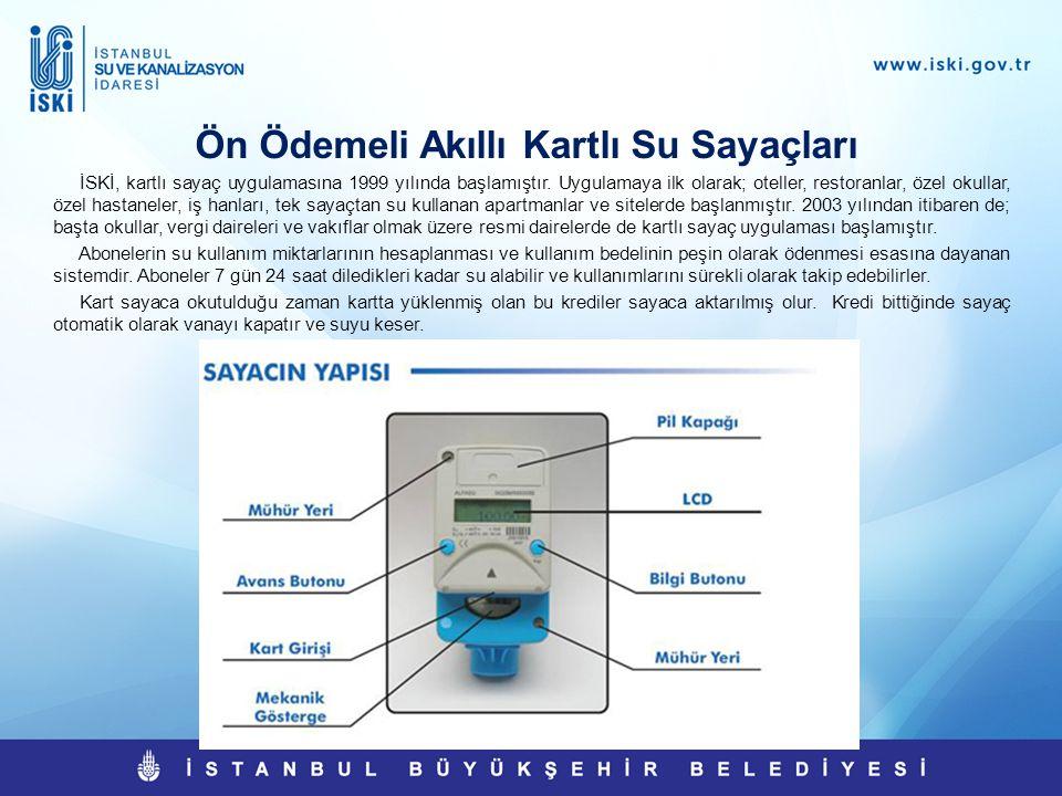 Ön Ödemeli Akıllı Kartlı Su Sayaçları