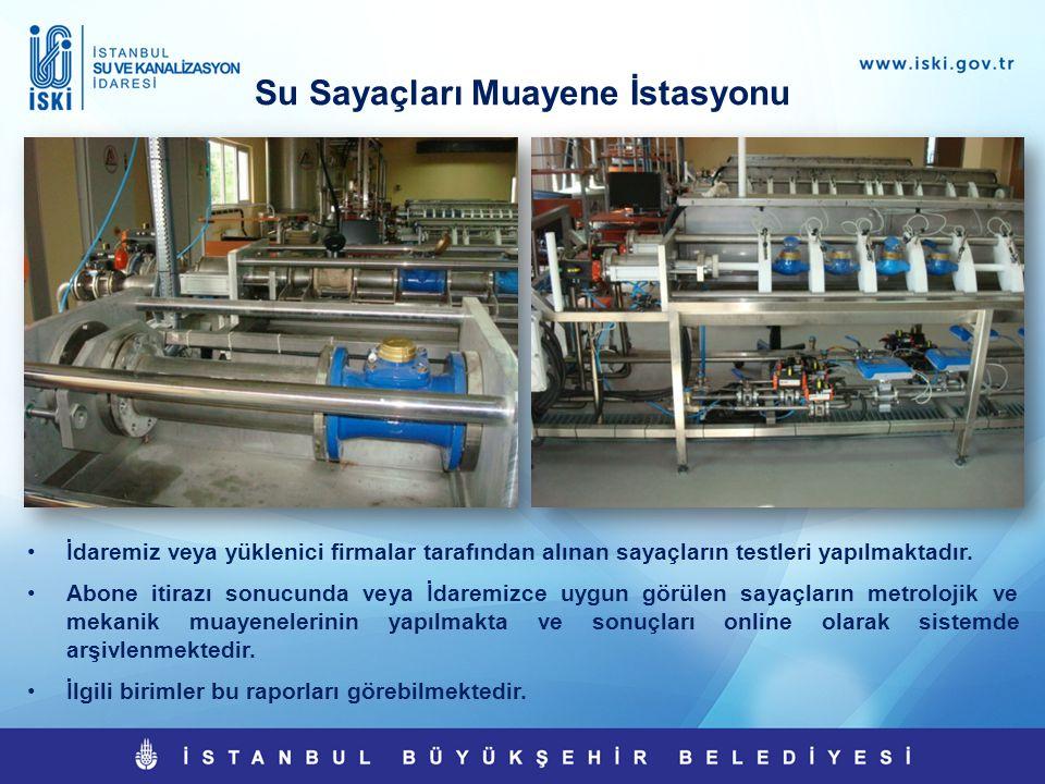 Su Sayaçları Muayene İstasyonu