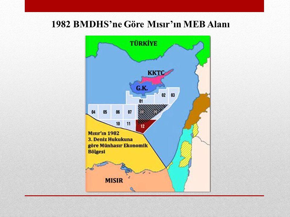 1982 BMDHS'ne Göre Mısır'ın MEB Alanı