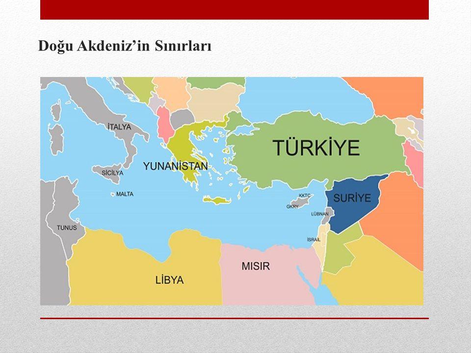 Doğu Akdeniz'in Sınırları