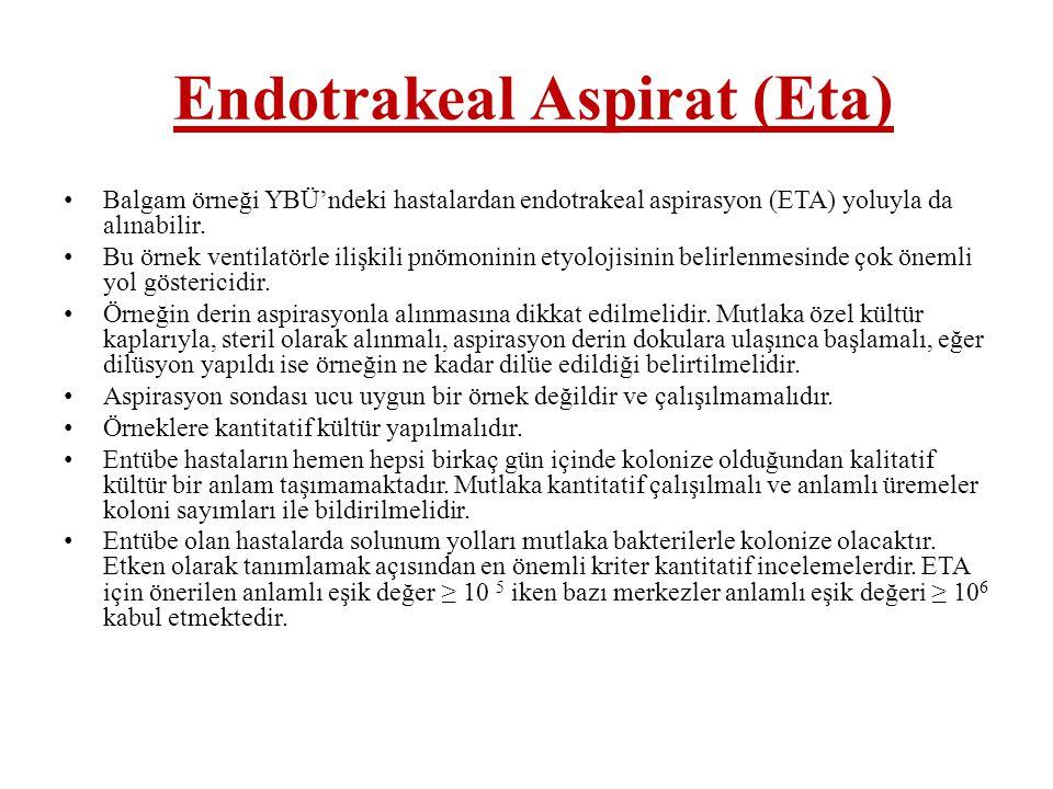 Endotrakeal Aspirat (Eta)