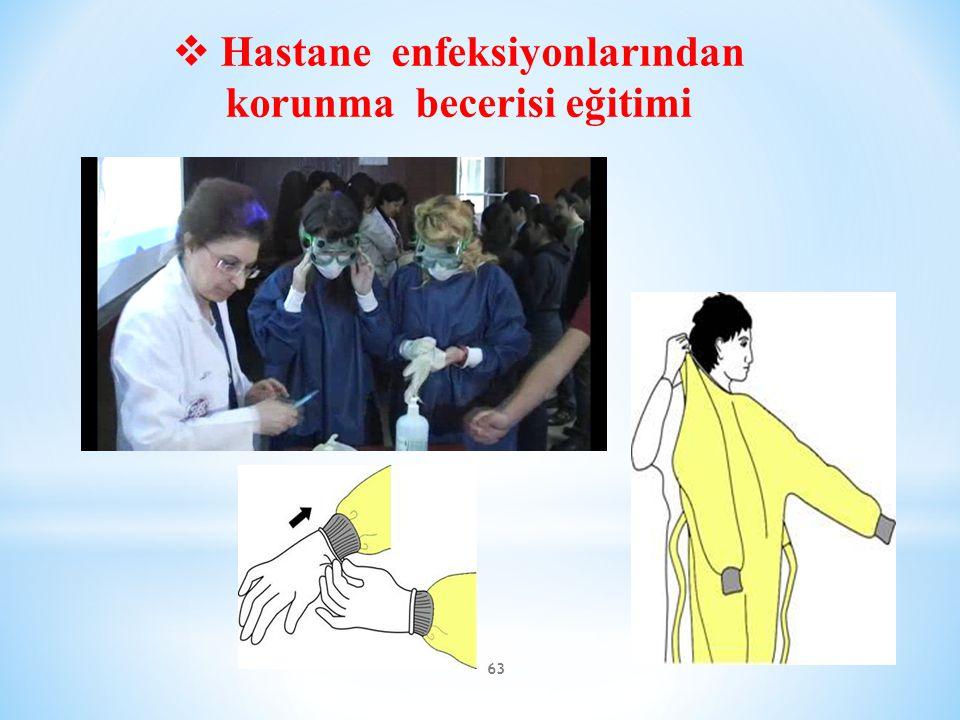 Hastane enfeksiyonlarından