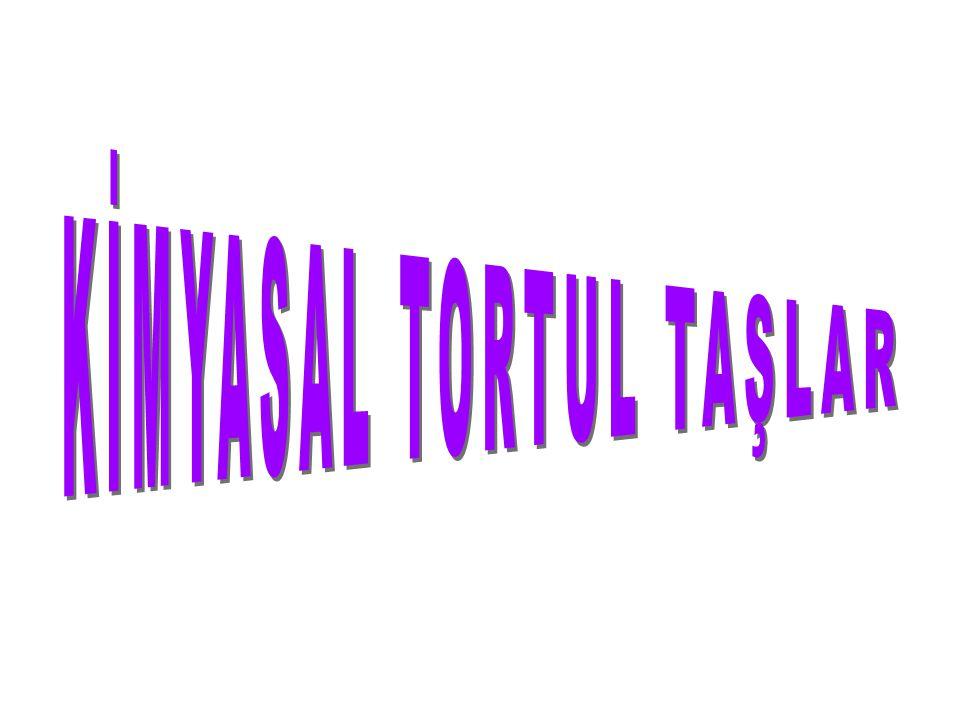 KİMYASAL TORTUL TAŞLAR