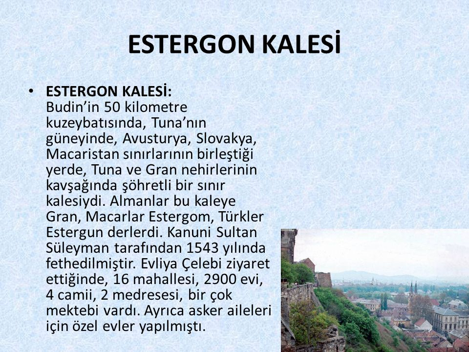 ESTERGON KALESİ