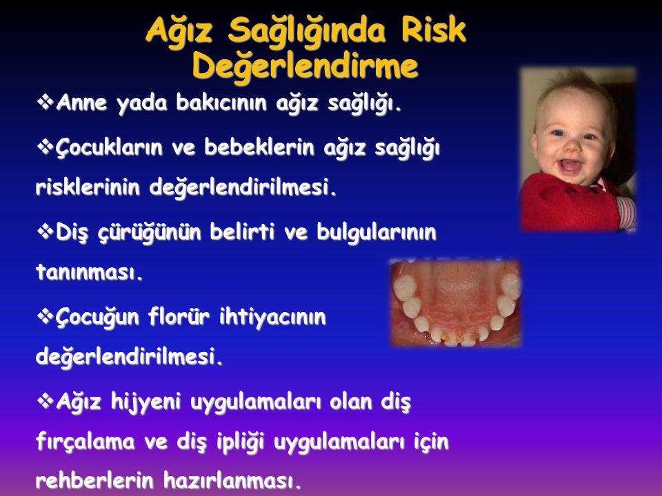 Ağız Sağlığında Risk Değerlendirme