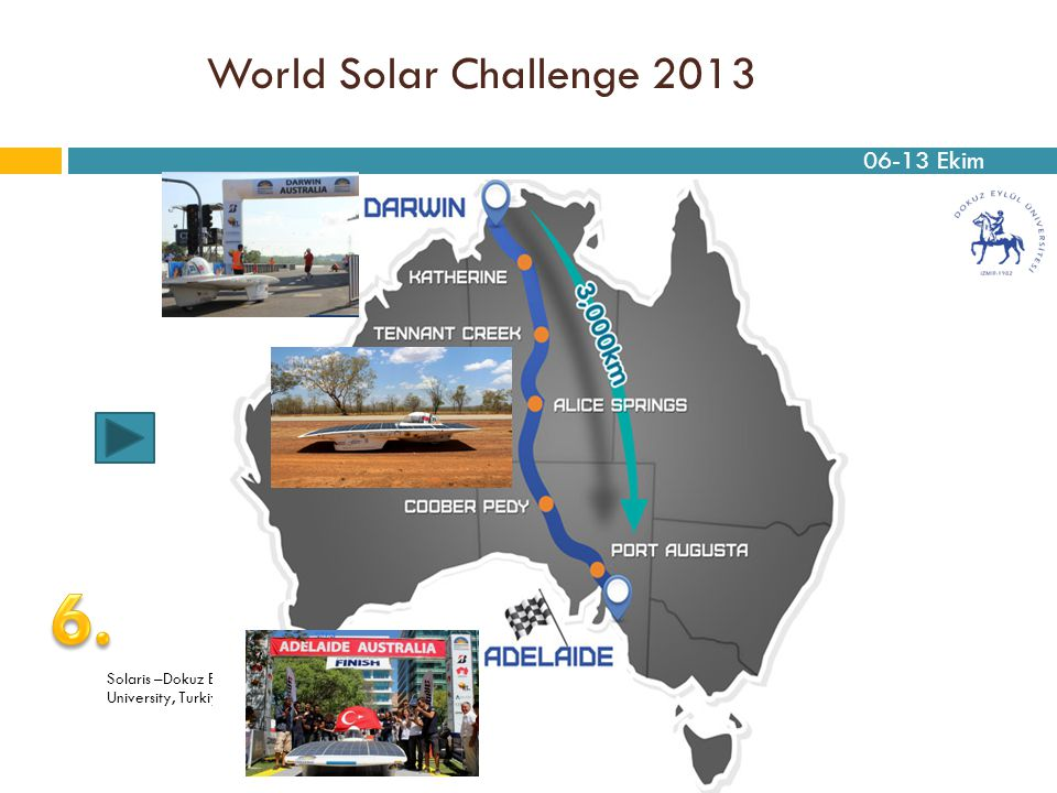 6. World Solar Challenge 2013 06-13 Ekim