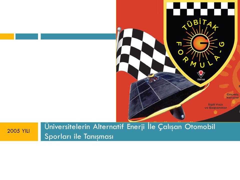 Üniversitelerin Alternatif Enerji İle Çalışan Otomobil Sporları ile Tanışması