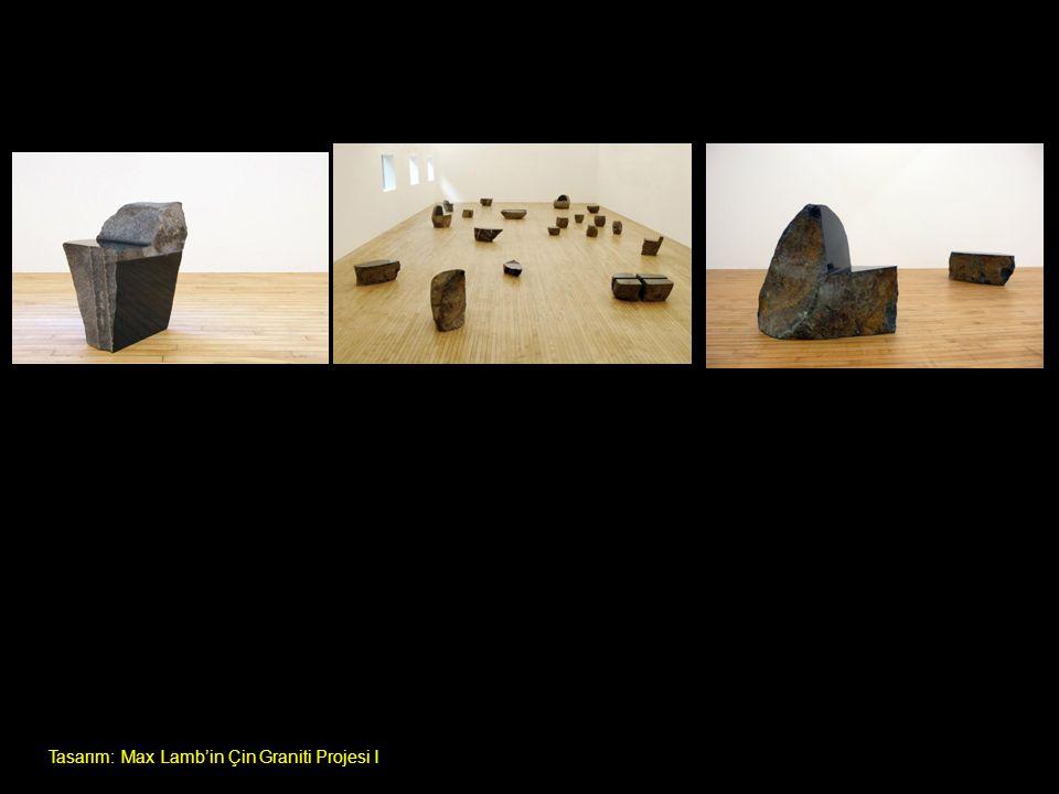 Tasarım: Max Lamb'in Çin Graniti Projesi I