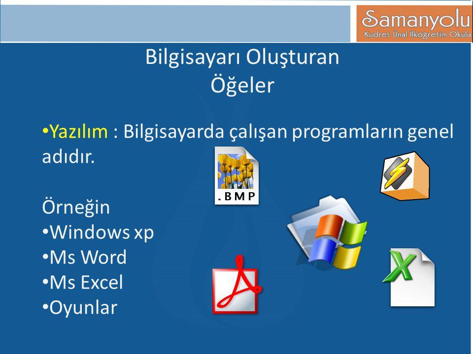Bilgisayarı Oluşturan