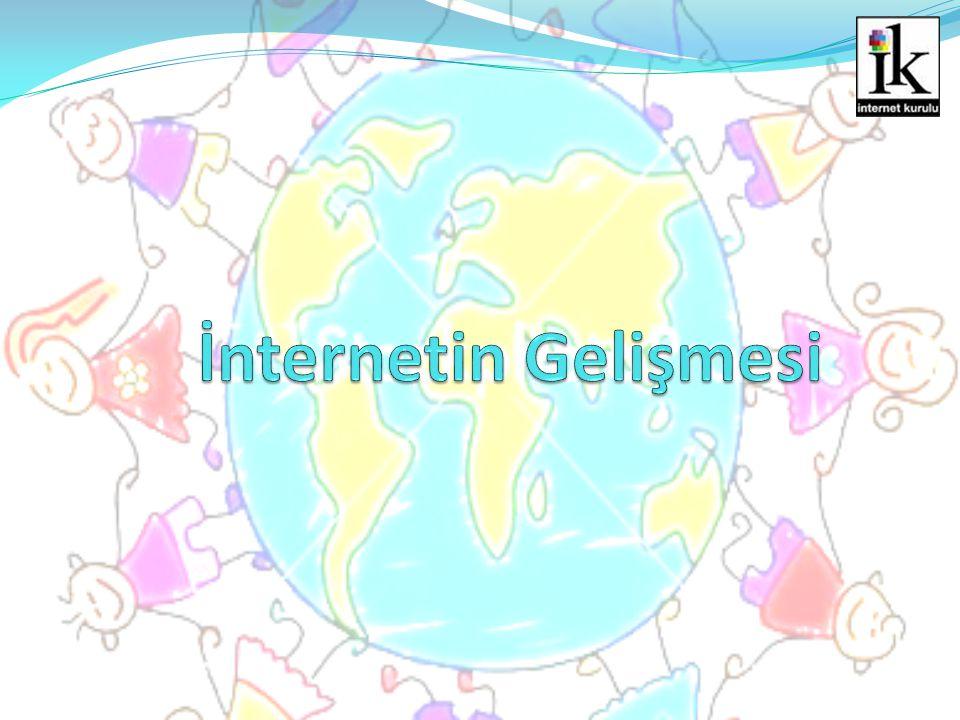İnternetin Gelişmesi