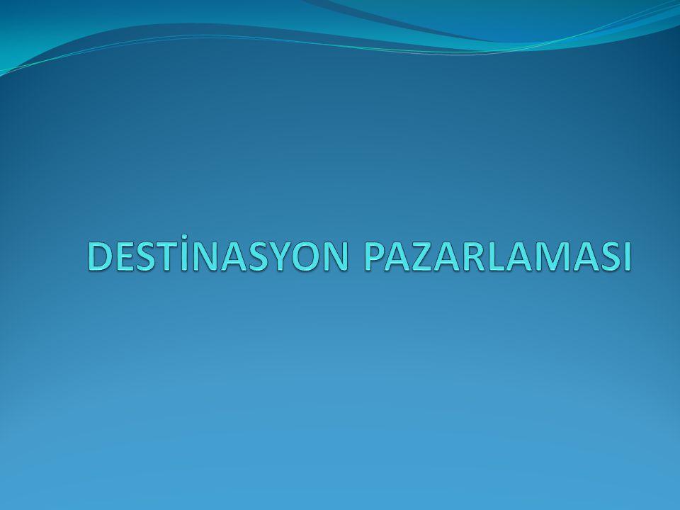 DESTİNASYON PAZARLAMASI