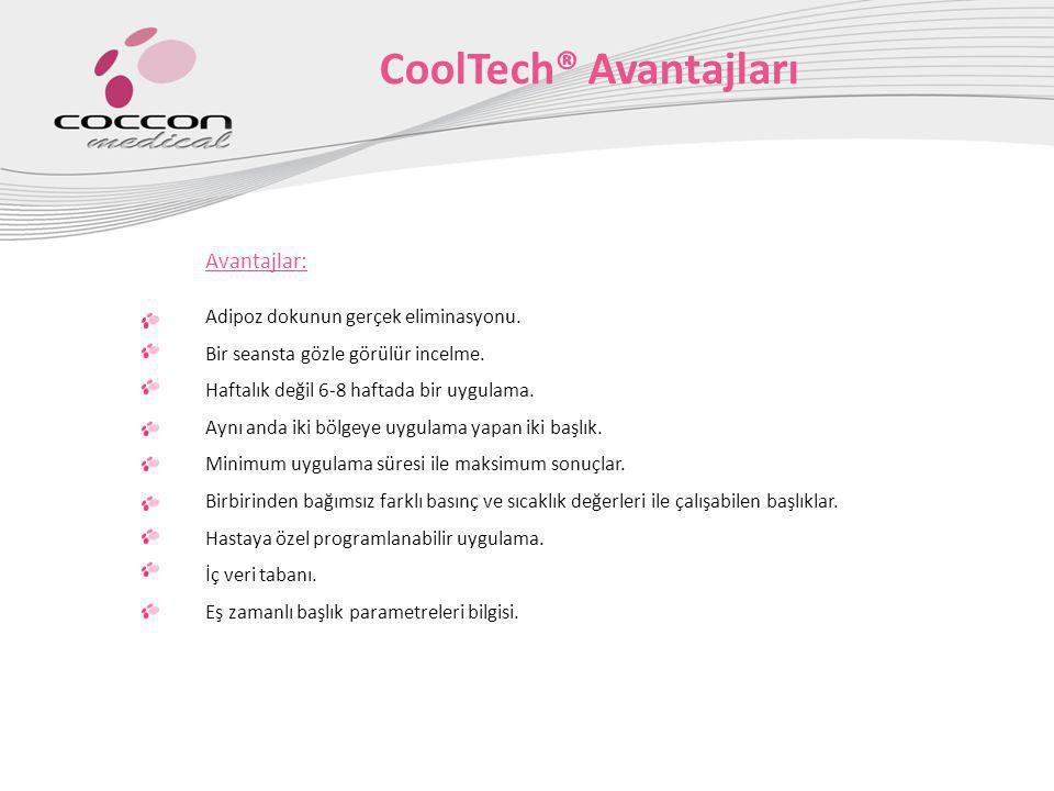 CoolTech® Avantajları
