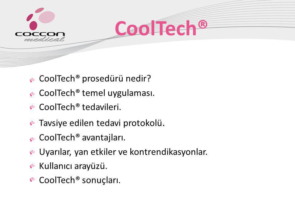 CoolTech® CoolTech® prosedürü nedir CoolTech® temel uygulaması.