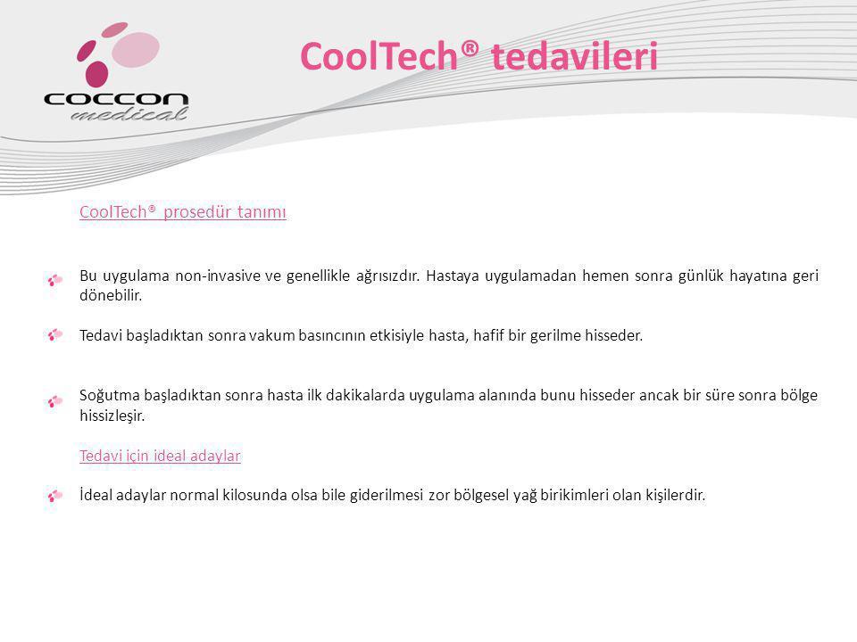CoolTech® tedavileri CoolTech® prosedür tanımı