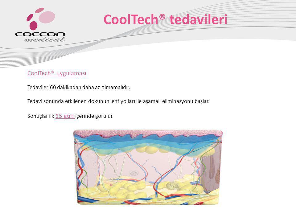 CoolTech® tedavileri CoolTech® uygulaması