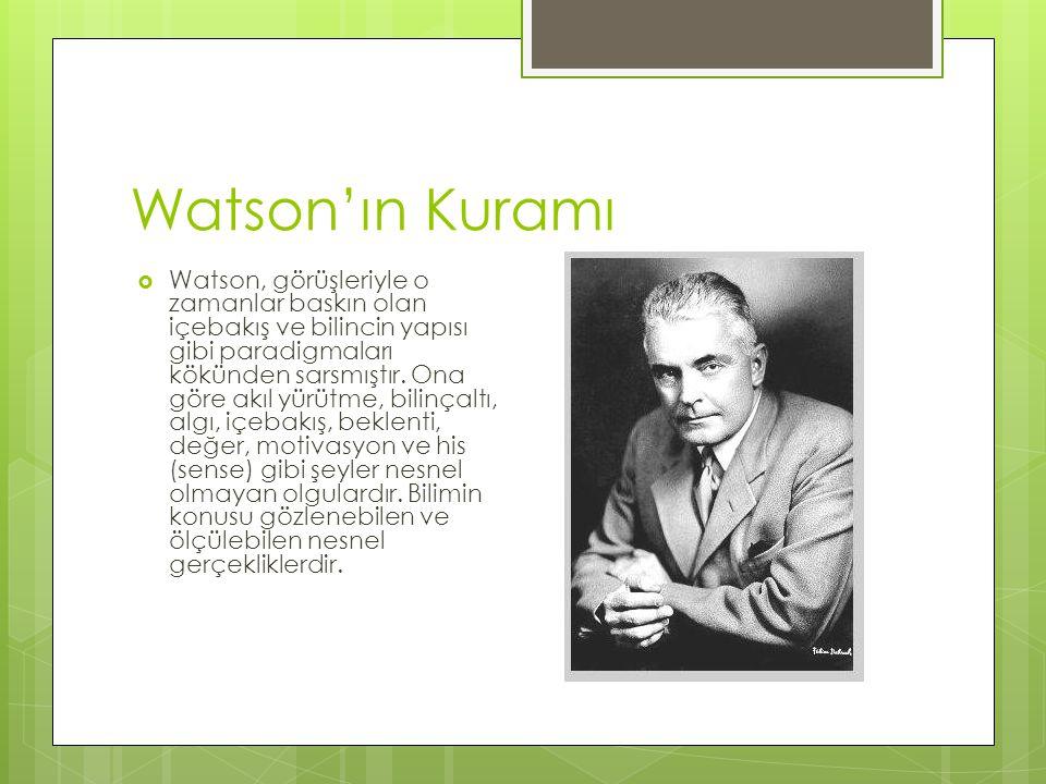 Watson'ın Kuramı