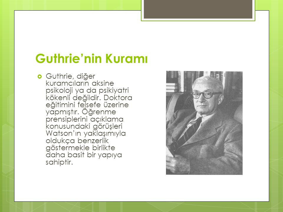 Guthrie'nin Kuramı
