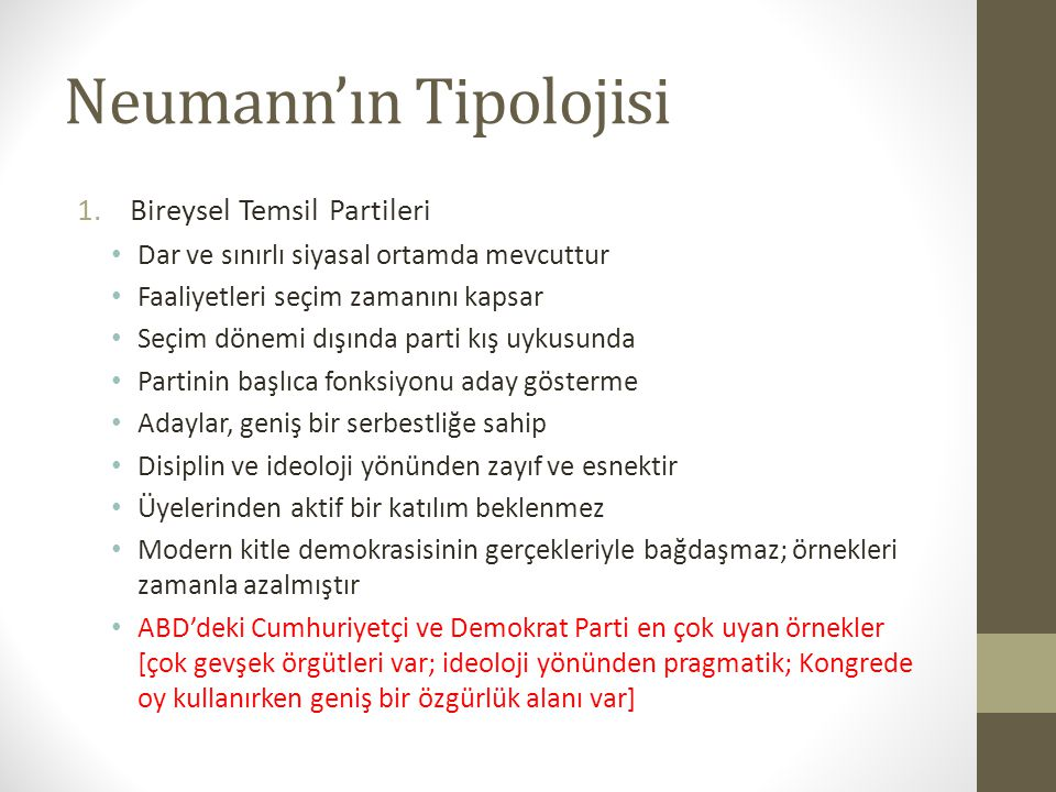 Neumann'ın Tipolojisi