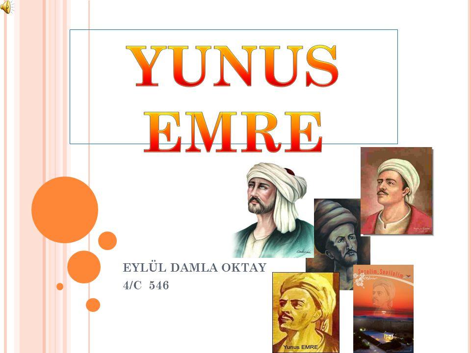 YUNUS EMRE EYLÜL DAMLA OKTAY 4/C 546