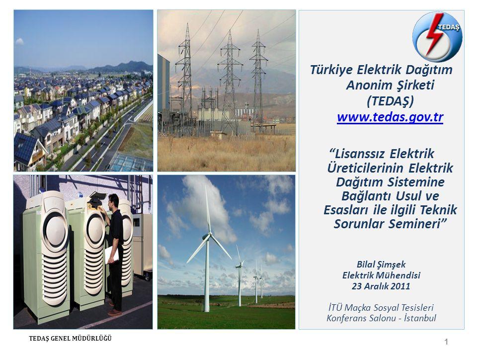 Türkiye Elektrik Dağıtım Anonim Şirketi (TEDAŞ) www.tedas.gov.tr