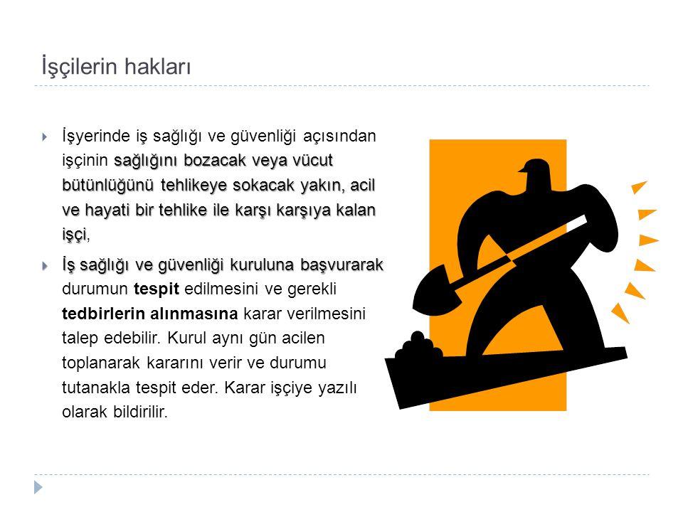 İşçilerin hakları