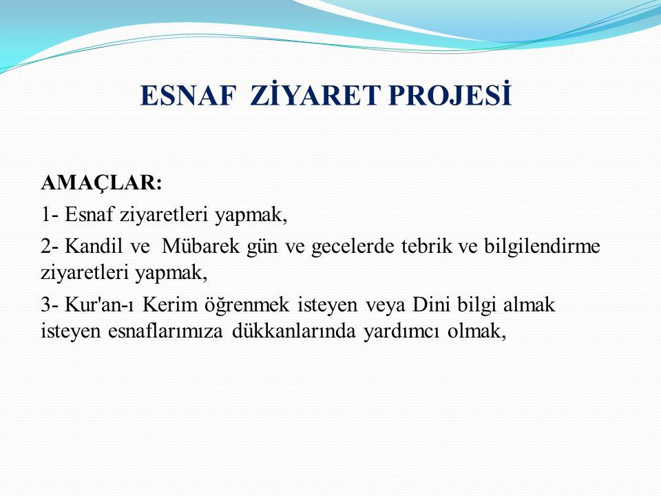 ESNAF ZİYARET PROJESİ