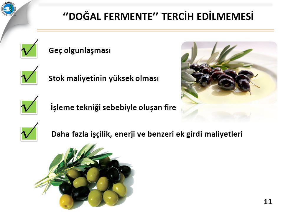 ''DOĞAL FERMENTE'' TERCİH EDİLMEMESİ