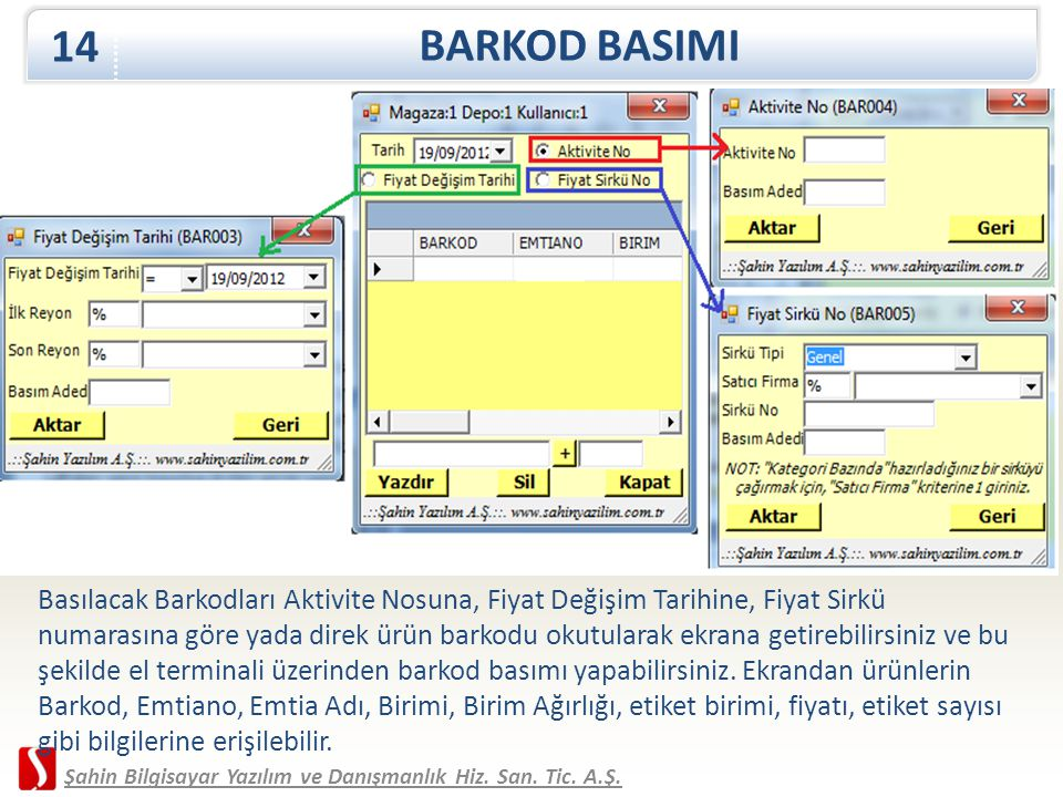 BARKOD BASIMI 14.
