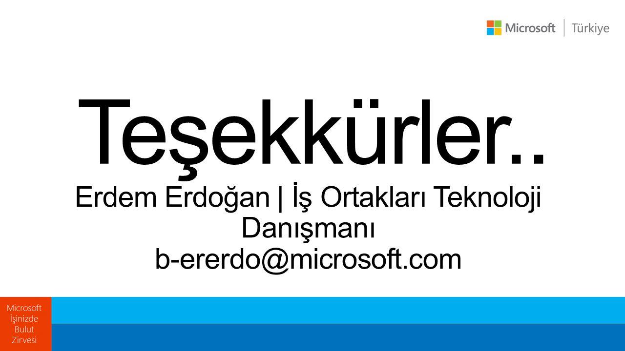 Erdem Erdoğan | İş Ortakları Teknoloji Danışmanı