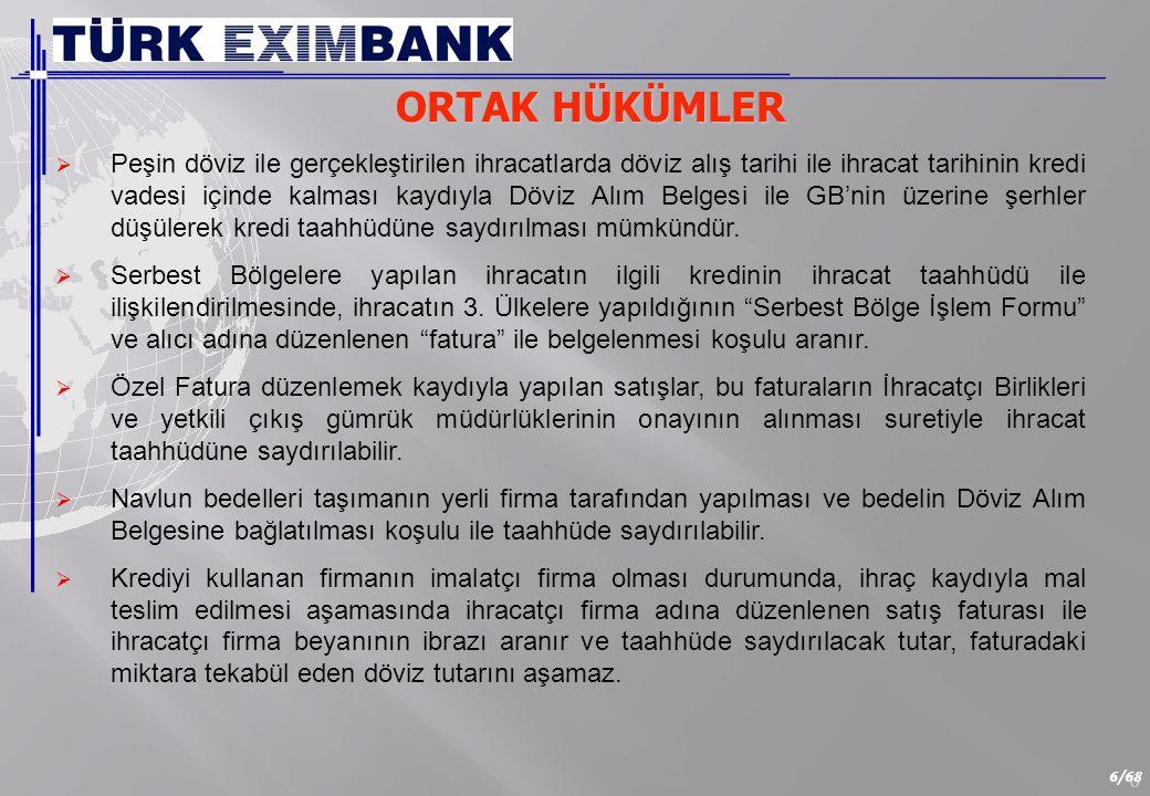 KREDİ TEMİNATLARI Banka veya Özel Finans Kurumundan alınacak Teminat mektubu ve/veya. Kredi Garanti Fonu Kefaleti,
