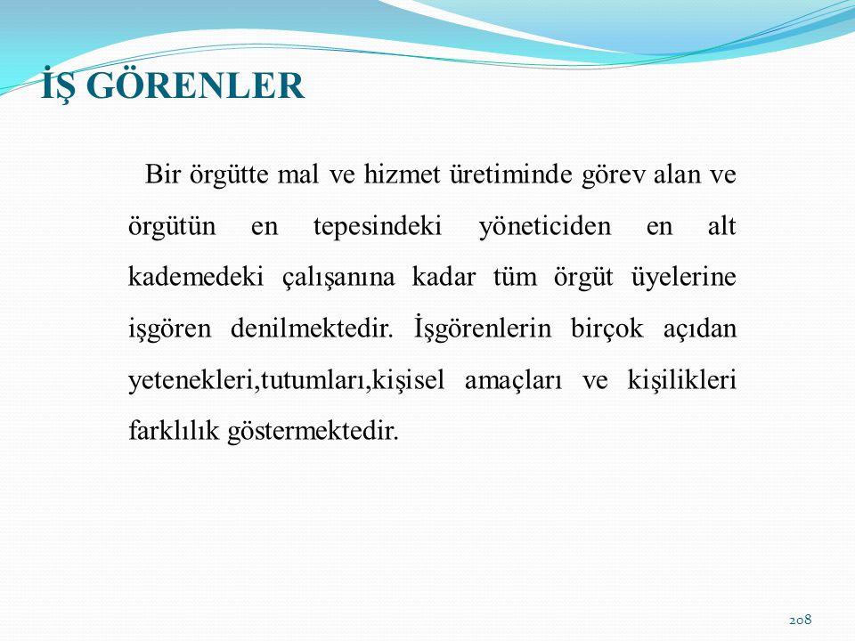 İŞ GÖRENLER