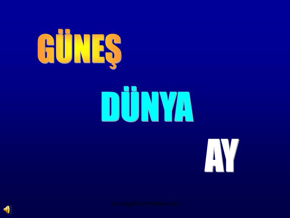 GÜNEŞ DÜNYA AY www.egitimcininadresi.com
