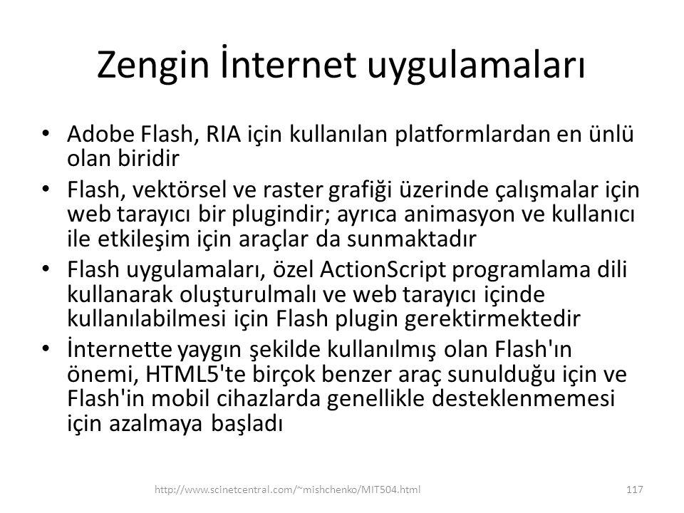 Zengin İnternet uygulamaları