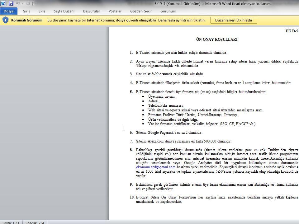 İhracat Genel Müdürlüğü | KOBİ ve Kümelenme Destekleri Daire Başkanlığı