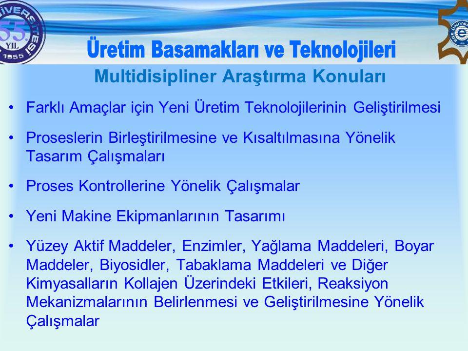 Multidisipliner Araştırma Konuları